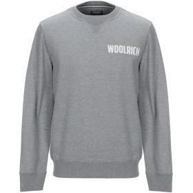 《期間限定 セール開催中》WOOLRICH メンズ スウェットシャツ グレー XS コットン 100%