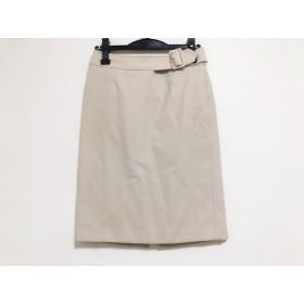 【中古】 ボディドレッシングデラックス スカート サイズ9 M レディース ベージュ ニット