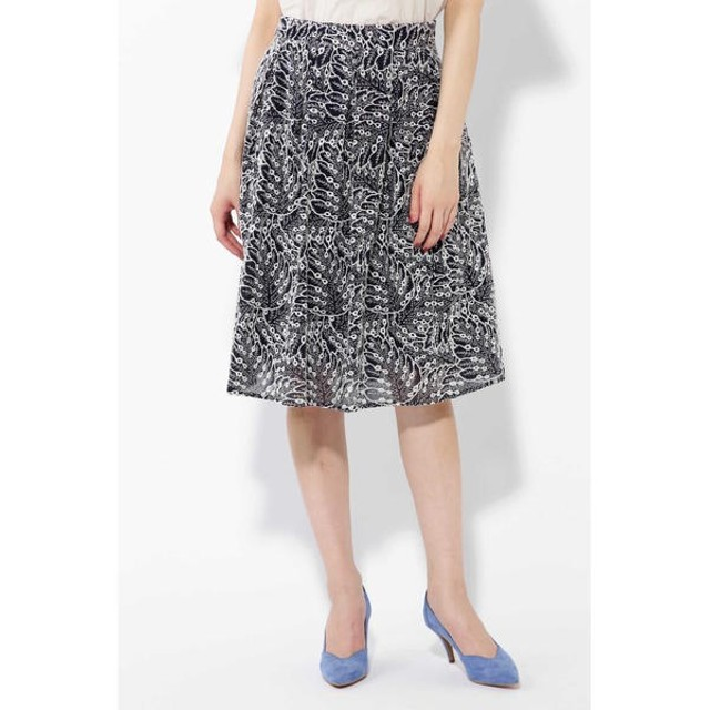 [マルイ]【セール】ボタニカル刺繍スカート/ローズバッド(ROSE BUD)