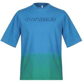 《期間限定 セール開催中》COTTWEILER メンズ T シャツ アジュールブルー S コットン 100%