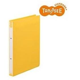 ビュートンジャパン TANOSEE リングファイル A4タテ リング内径25mm イエロー(TRF-A4-Y)