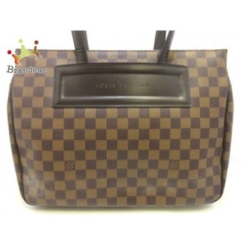 中古 Louis Vuitton ルイ・ヴィトン パリオリPM エベヌ ダミエ トートバッグ N51123