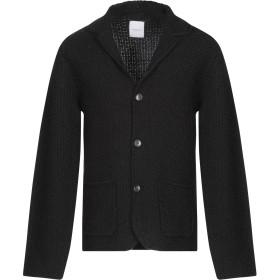 《期間限定セール開催中!》BELLWOOD メンズ テーラードジャケット ブラック 50 アクリル 60% / 毛(アルパカ) 15% / ウール 15% / レーヨン 10%