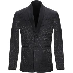 《期間限定 セール開催中》NEILL KATTER メンズ テーラードジャケット ブラック 44 コットン 64% / ポリエステル 33% / ポリウレタン 3%