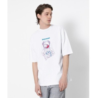 SENSE OF PLACE by URBAN RESEARCH / センスオブプレイス バイ アーバンリサーチ グラフィックTシャツ Discover(5分袖)