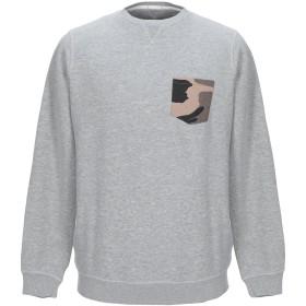 《期間限定セール開催中!》RANSOM メンズ スウェットシャツ ライトグレー M コットン 80% / ポリエステル 20%
