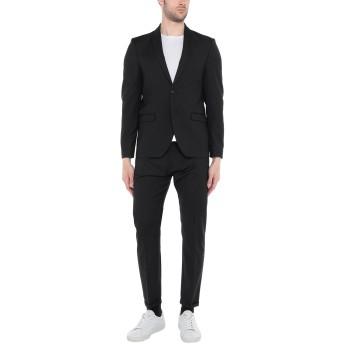 《セール開催中》OFFICINA 36 メンズ スーツ ブラック 50 ポリエステル 54% / バージンウール 44% / ポリウレタン 2%