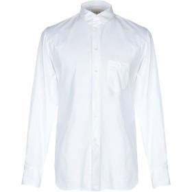 《期間限定 セール開催中》CORELATE メンズ シャツ ホワイト S コットン 100%