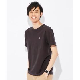 ALPHA ブラッドチットバックプリントTシャツ メンズ ブラック
