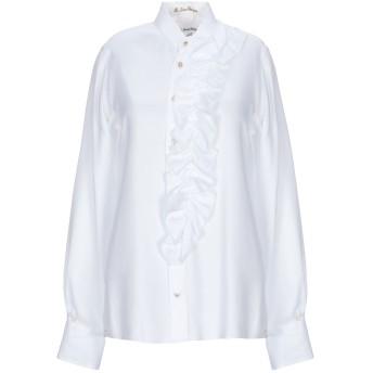 《セール開催中》LE SARTE PETTEGOLE レディース シャツ ホワイト 40 指定外繊維(テンセル) 100%
