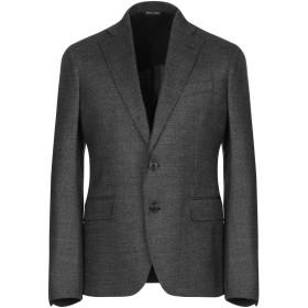 《セール開催中》BRIAN DALES メンズ テーラードジャケット スチールグレー 48 ウール 86% / シルク 13% / ポリウレタン 1%