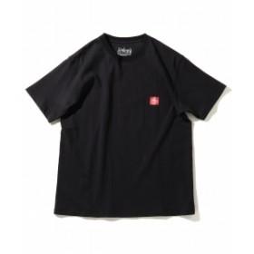 Manhattan Portage / ロゴ プリント Tシャツ メンズ Tシャツ BLACK S