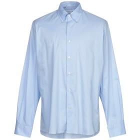 《セール開催中》29 TWENTYNINE メンズ シャツ スカイブルー 44 コットン 97% / ポリウレタン 3%