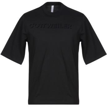 《セール開催中》COTTWEILER メンズ T シャツ ブラック M コットン 100%