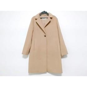 【中古】 ロペ ROPE コート サイズ38 M レディース ブラウン 冬物