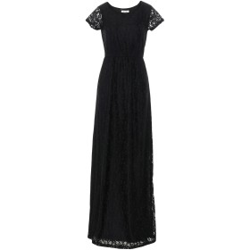 《送料無料》DRY LAKE. レディース ロングワンピース&ドレス ブラック XS ナイロン 90% / ポリウレタン 10%