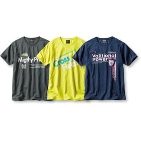 吸汗速乾半袖プリントTシャツ3枚組(スポーツロゴ) Tシャツ・カットソー
