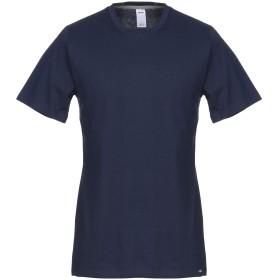 《期間限定セール開催中!》SKINY メンズ アンダーTシャツ ダークブルー S コットン 100%