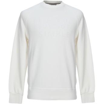《9/20まで! 限定セール開催中》CIRCOLO 1901 メンズ スウェットシャツ ホワイト M コットン 100%
