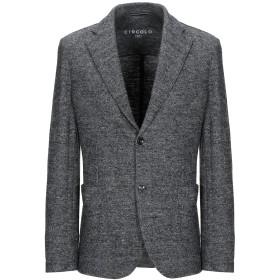 《セール開催中》CIRCOLO 1901 メンズ テーラードジャケット 鉛色 50 バージンウール 57% / シルク 22% / コットン 16% / レーヨン 5%