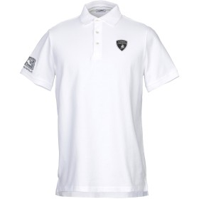《セール開催中》AUTOMOBILI LAMBORGHINI メンズ ポロシャツ ホワイト M コットン 100%