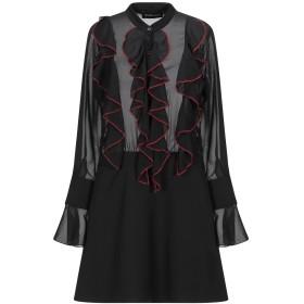 《期間限定セール開催中!》VANESSA SCOTT レディース ミニワンピース&ドレス ブラック S ポリエステル 100%