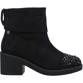 《セール開催中》TUA BY BRACCIALINI レディース ショートブーツ ブラック 36 紡績繊維