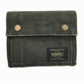 d7df5332b889 ポーター PORTER SMOKY 吉田カバン 財布 ウォレット 二つ折り 黒 ブラック メンズ