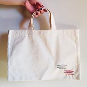 送料無料《刺繍》レッスンバッグ トートバッグ 絵本バッグ