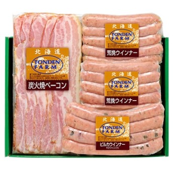 [北海道・夢工房トンデンファーム]バラエティ詰合せTF-3Y ハム・ソーセージ・肉加工品