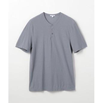 トゥモローランド コットンリネン ヘンリーネックTシャツ MYH3000 メンズ 16グレー系 0(S) 【TOMORROWLAND】