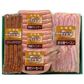 [北海道・夢工房トンデンファーム]バラエティ詰合せTF-4Y ハム・ソーセージ・肉加工品