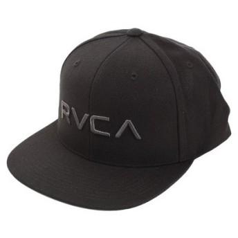 RVCA 【オンライン特価】 RVCA TWILL SNAPBACK II キャップ AJ041922 BCL (Men's)