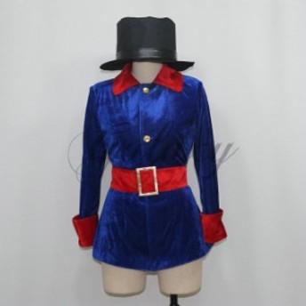 ハロウィン 魔術師 マジシャン 手品師 舞台衣装 仮装セクシー コスプレ衣装cc1957