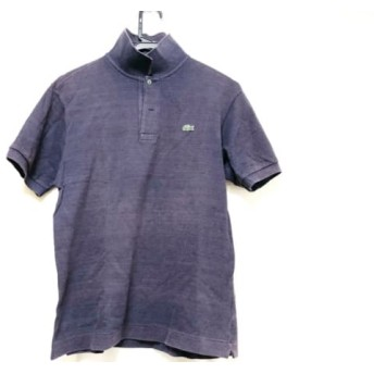 【中古】 ラコステ Lacoste 半袖ポロシャツ メンズ ダークネイビー