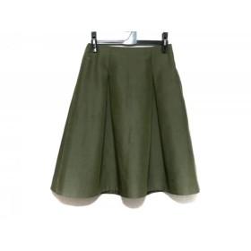 【中古】 トゥモローランド TOMORROWLAND スカート サイズ36 S レディース カーキ BALLSEY