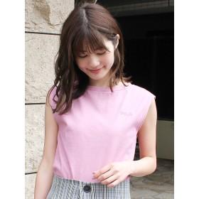 [MERCURYDUO]【FILA MERCURYDUO別注】ロゴ刺繍ノースリTシャツ