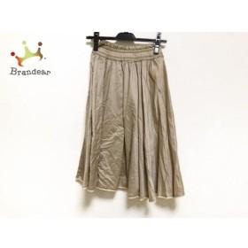 ロイスクレヨン Lois CRAYON スカート サイズM レディース 美品 ベージュ 新着 20190920