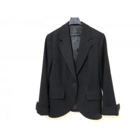 【中古】 アンタイトル UNTITLED ジャケット サイズ42 L レディース 黒