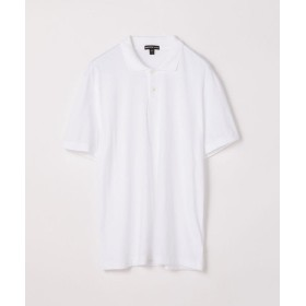 トゥモローランド リュクス ジャージーポロシャツ MELJ3293 メンズ 11ホワイト 2(L) 【TOMORROWLAND】