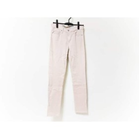 【中古】 セオリー theory パンツ サイズ27 M レディース ピンクベージュ