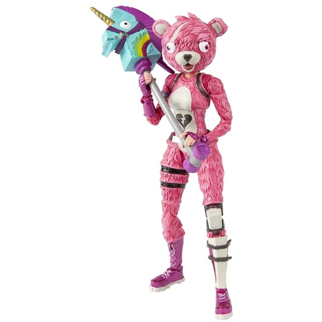 『フォートナイト』【アクションフィギュア】7インチ アソート1 (ピンクのクマちゃん)
