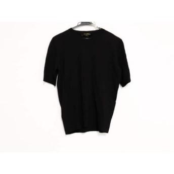 【中古】 レリアン Leilian 半袖Tシャツ サイズ9 M レディース 美品 ダークブラウン
