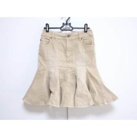 【中古】 エポカ EPOCA スカート サイズ38 M レディース ベージュ
