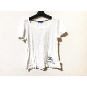 【中古】 バーバリーブルーレーベル Burberry Blue Label 半袖Tシャツ サイズ38 M レディース 白
