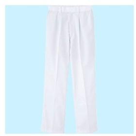 FXセレクト 清涼 横ゴム・裾口ストレートパンツB(女性用) サンエス FX70958 ホワイト/LL
