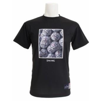 スポルディング(SPALDING)【ゼビオ限定】 Marble White 半袖Tシャツ SMT193030 (Men's)
