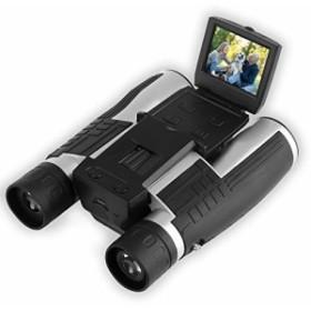 PowerLead デジタルカメラ双眼鏡フルHDデジタルカメラスパイカメラ折り畳みプリズム双眼鏡カメラ