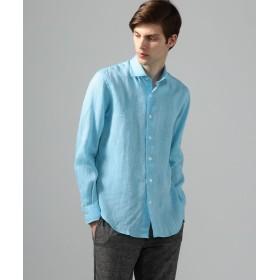 トゥモローランド サハラ セミワイドカラーシャツ メンズ 63ライトブルー L 【TOMORROWLAND】