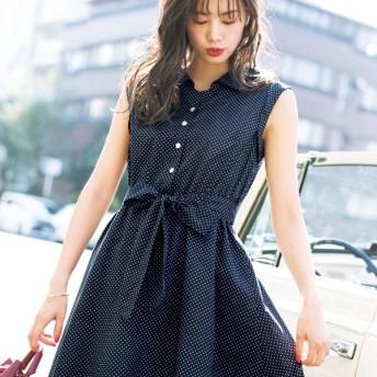 [マルイ] 後ろレースアップシャツワンピース/リュリュ(RyuRyu)